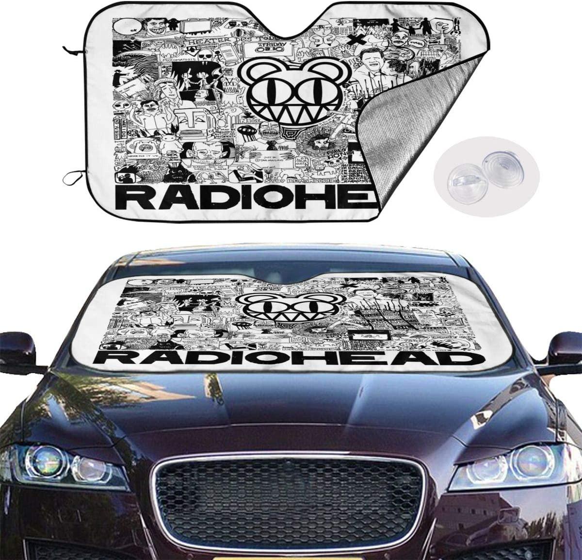NOT Radiohead Universal and Stylish Car Windshield Visor