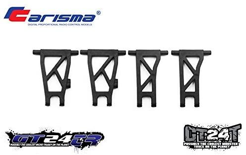 Carisma 15697 GT24TR/MT Rear Suspension Arms (2) Replacement Parts