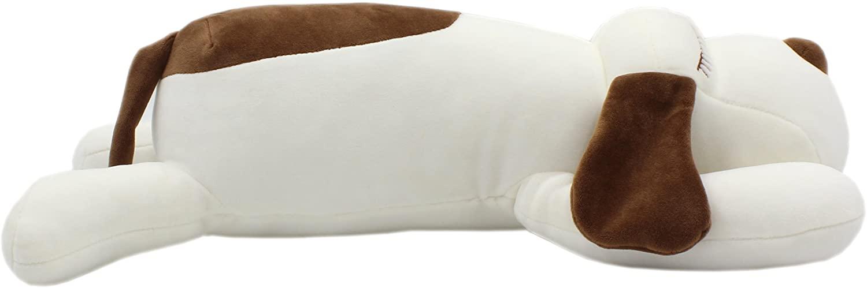 TAGLN Stuffed Animals Dogs Plush Toys Pillows (White, 18 Inch)