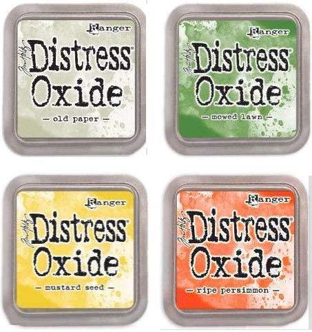 Tim Holtz Ranger Distress Oxide Ink Bundle G - Four 3