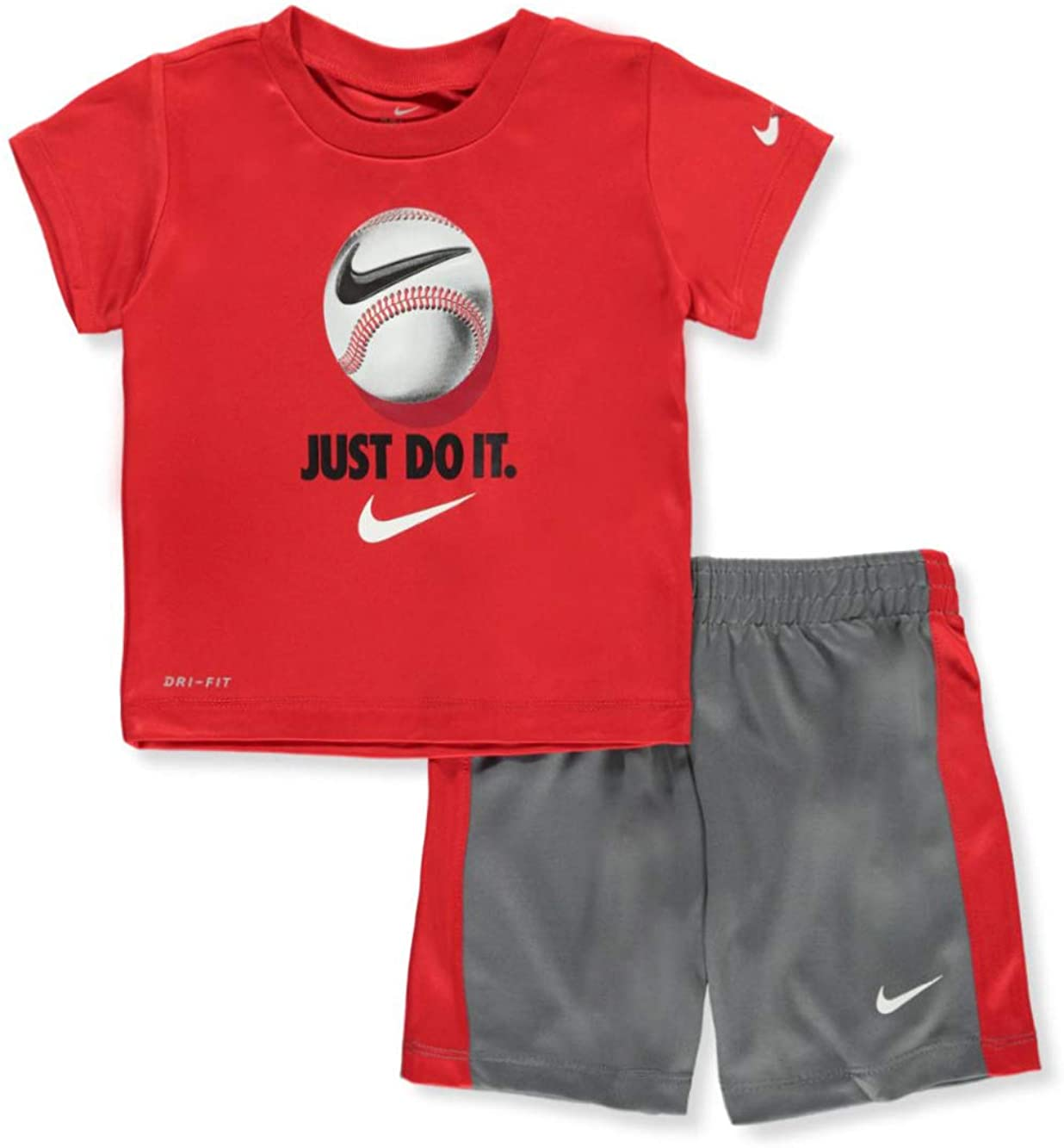 Nike Baby Boys' Dri-Fit 2-Piece Shorts Set Outfit