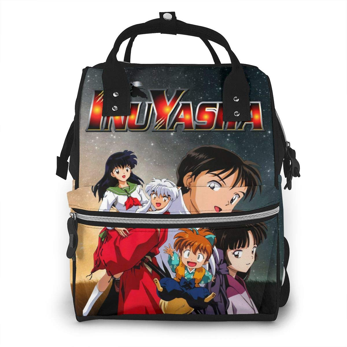 Inuyasha Large Capacity Multi-Function Diaper Bag Mummy Backpack Nappy Bags for Baby Care