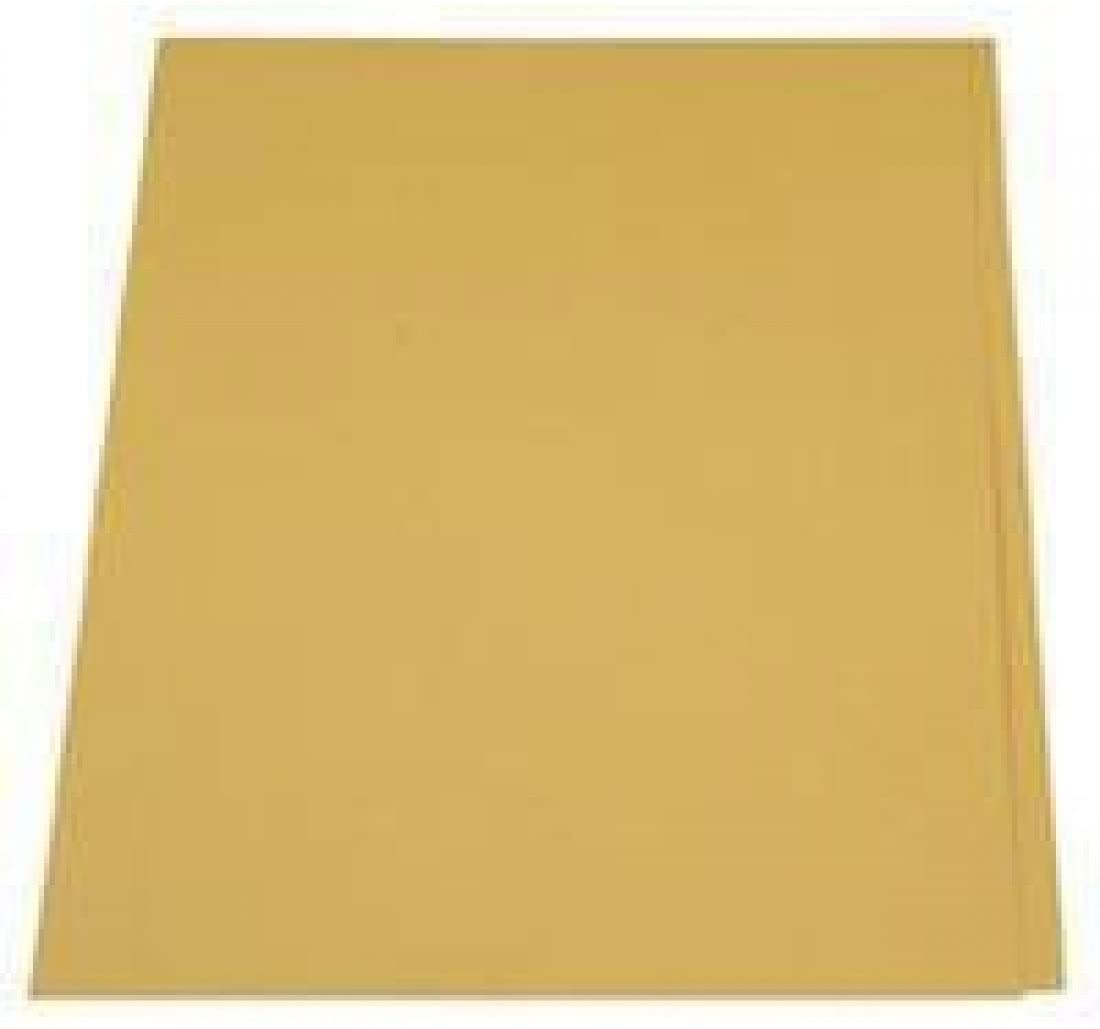 GUILDHALL SQUARE CUT FOLDER 315G YELLOW