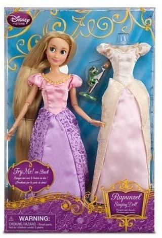 Disney Rapunzel Singing Doll and Costume Set