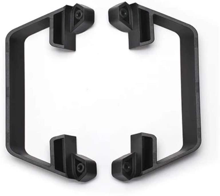 Traxxas 5833 Low CG Nerf Bars Model Car Parts, Black, 2.5 x 1.15 mm