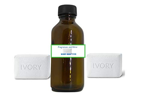 IVORY Type Fragrance Oil | For Soap Making| Candle Making| Use with Diffusers| Bath & Body Products| Home and Office Scents| 2 oz amber glass bottle
