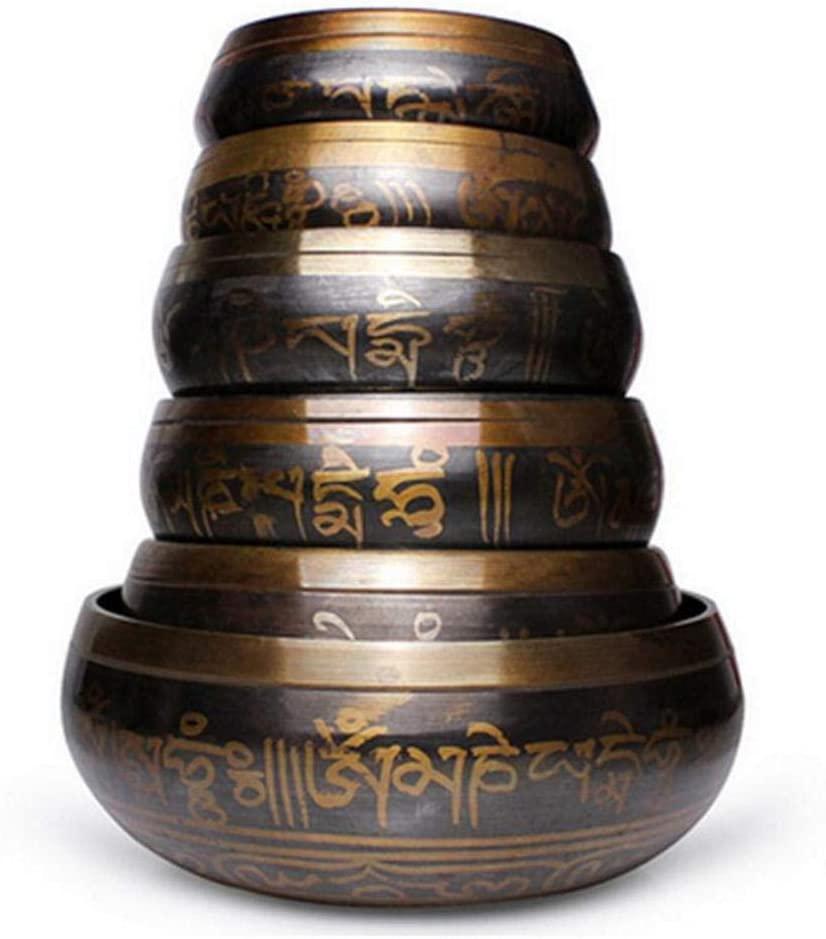 Various Sizes Tibetan Bowl Singing Bowl Decorative-Wall-Dishes Home Decoration Tibetan Singing Bowl-80Mm