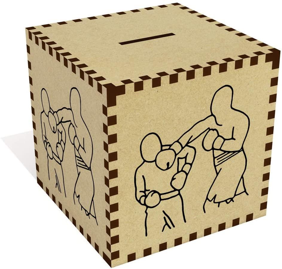 Azeeda Large 'Boxing Match' Money Box / Piggy Bank (MB00057312)