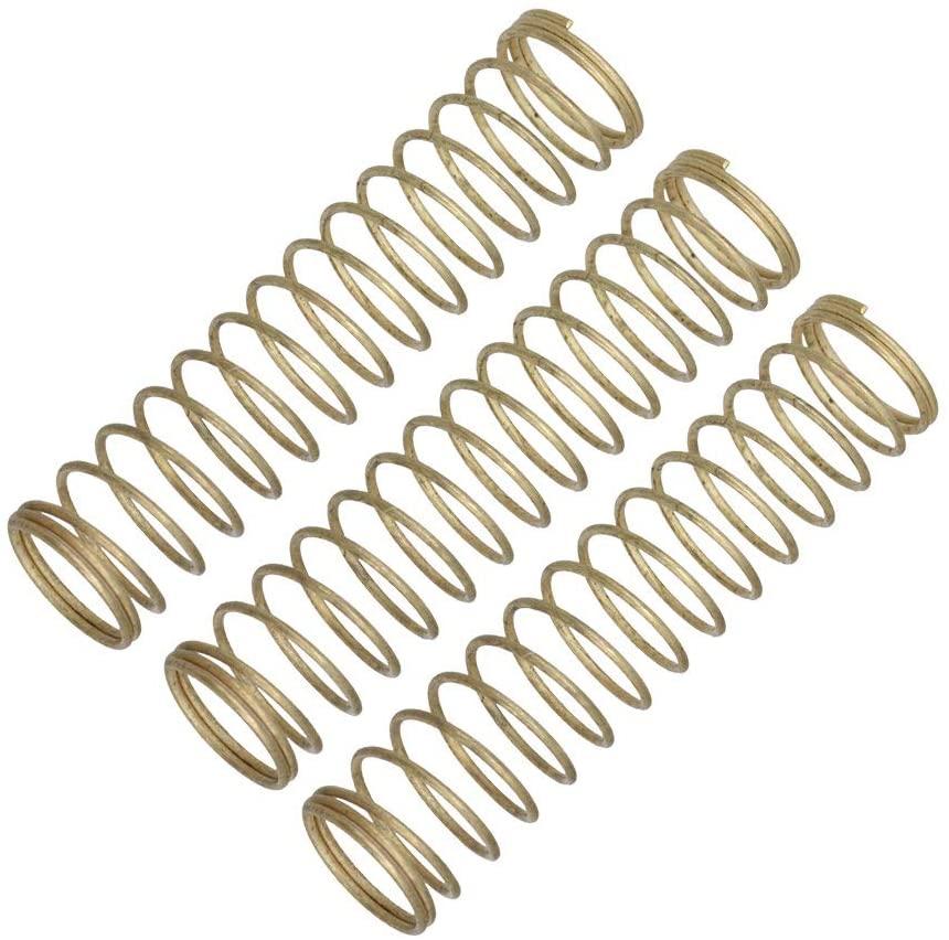 Mxfans 3x Metal Trumpet Piston Springs Accessorie Parts Replacement 4x0.9cm
