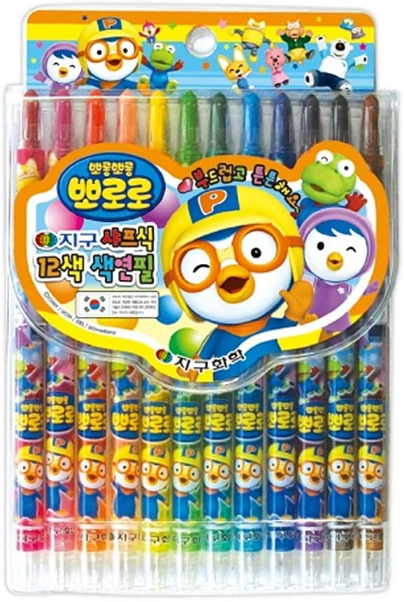 Pororo Coloring pencil and Sharp type