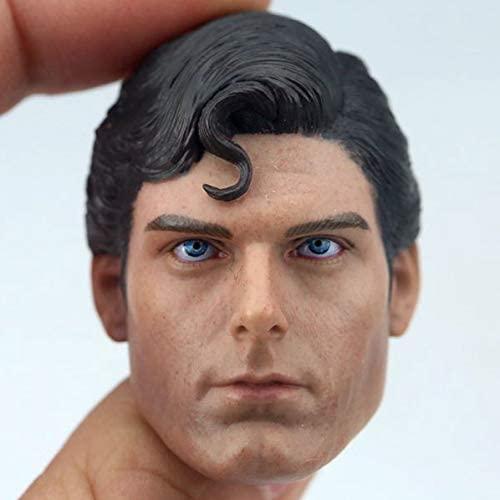 ZSMD 1/6 Scale Male Figure Head Sculpt, Handsome Men Tough Guy, Doll Head for 12