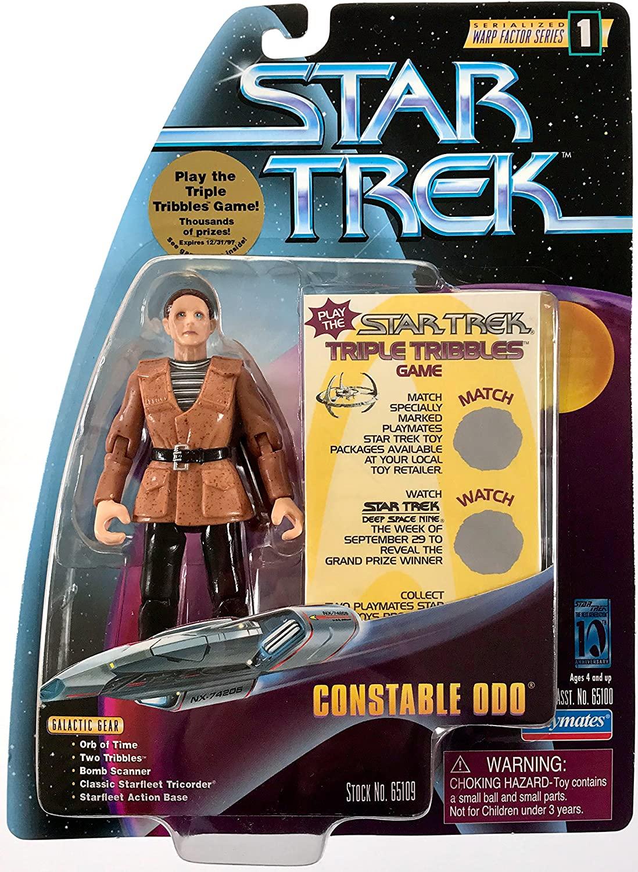 Star Trek Warp Factor Series 1 Constable Odo Action Figure