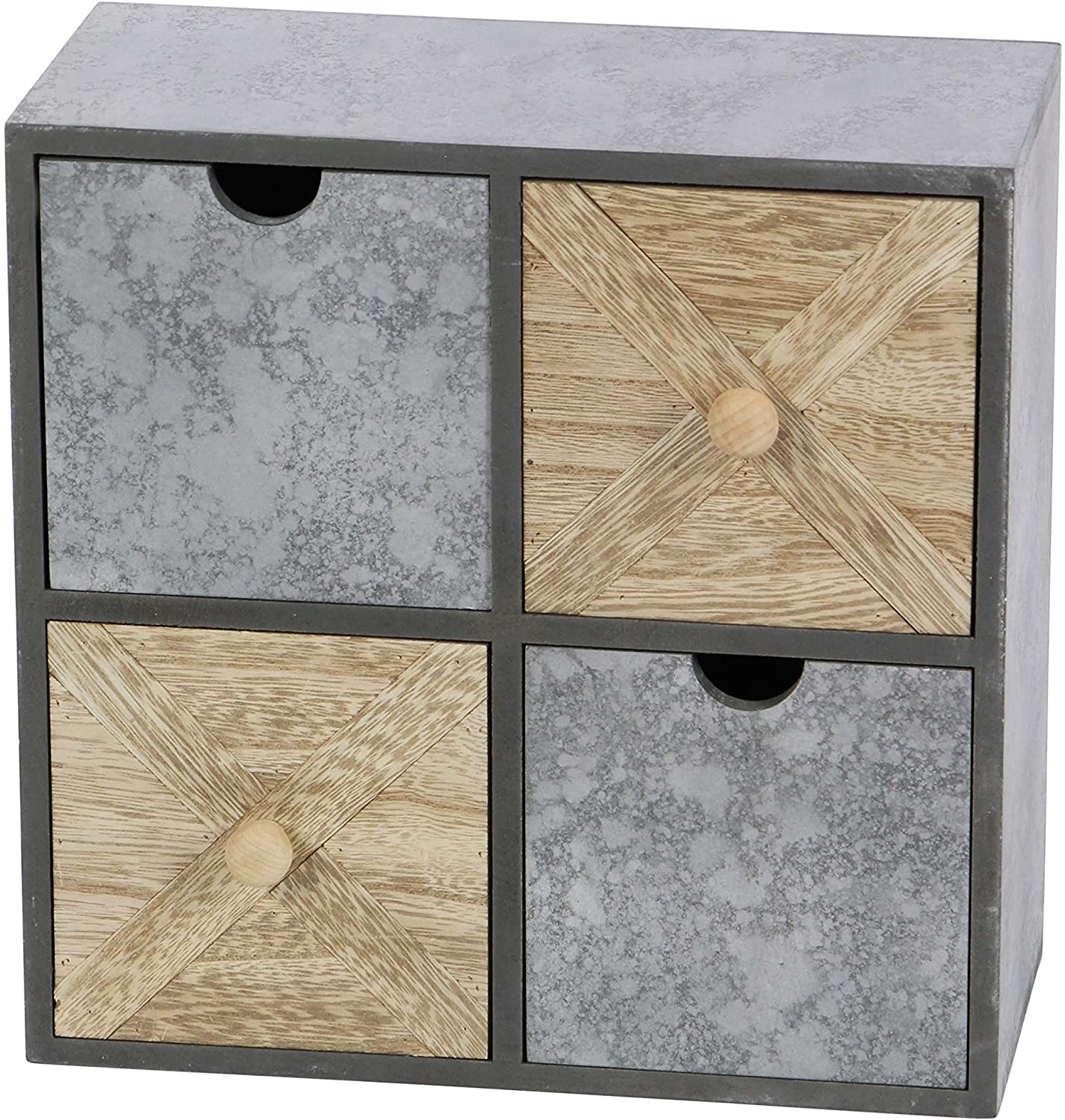 Deco 79 Wood Table Chest W, 10