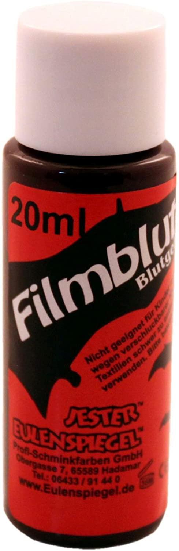 Creative Eulenspiegel Stage Blood Bottle, 20 ml, Dark