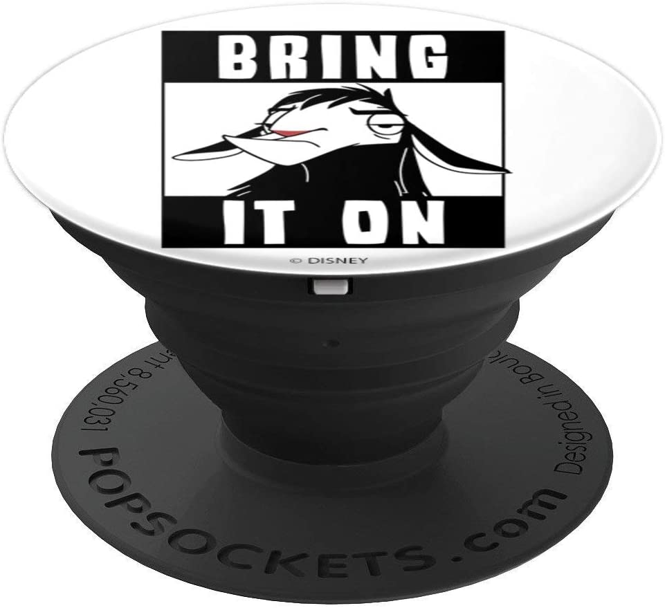 Disney Emperors New Groove Llama Kuzco Bring It On PopSockets Grip and Stand for Phones and Tablets