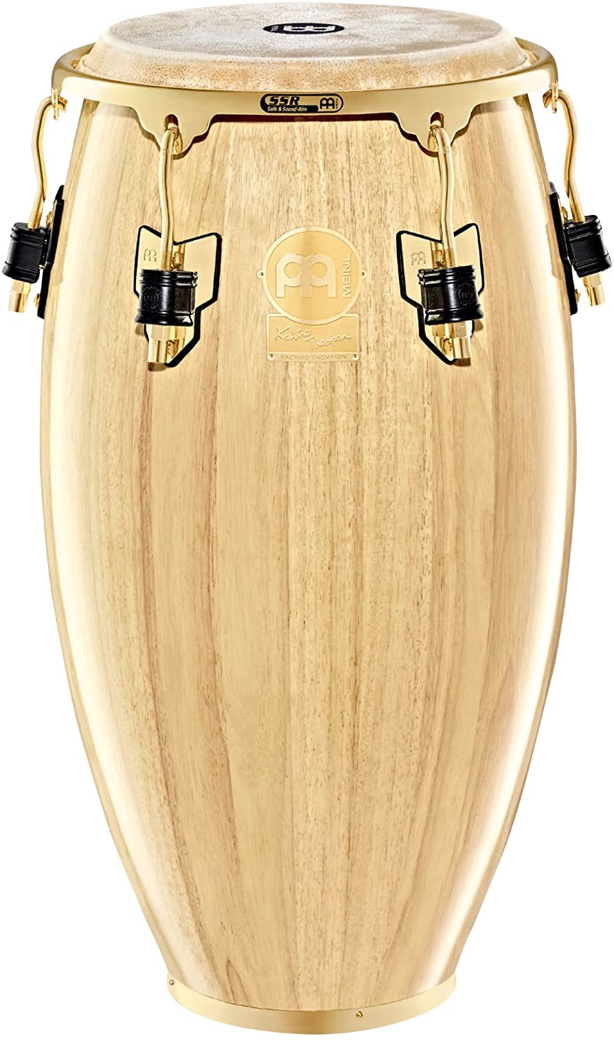 Meinl Percussion WKT1134NT Artist Series Kachiro Thompson Signature 11.75-Inch Conga, Natural