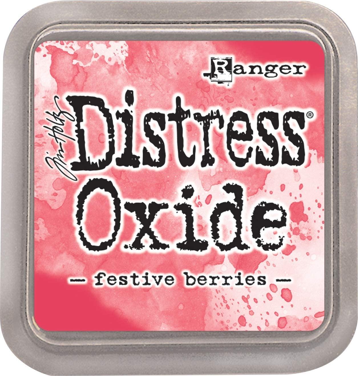 Ranger Tim Holtz Distress Oxides Ink Pad-Festive Berries