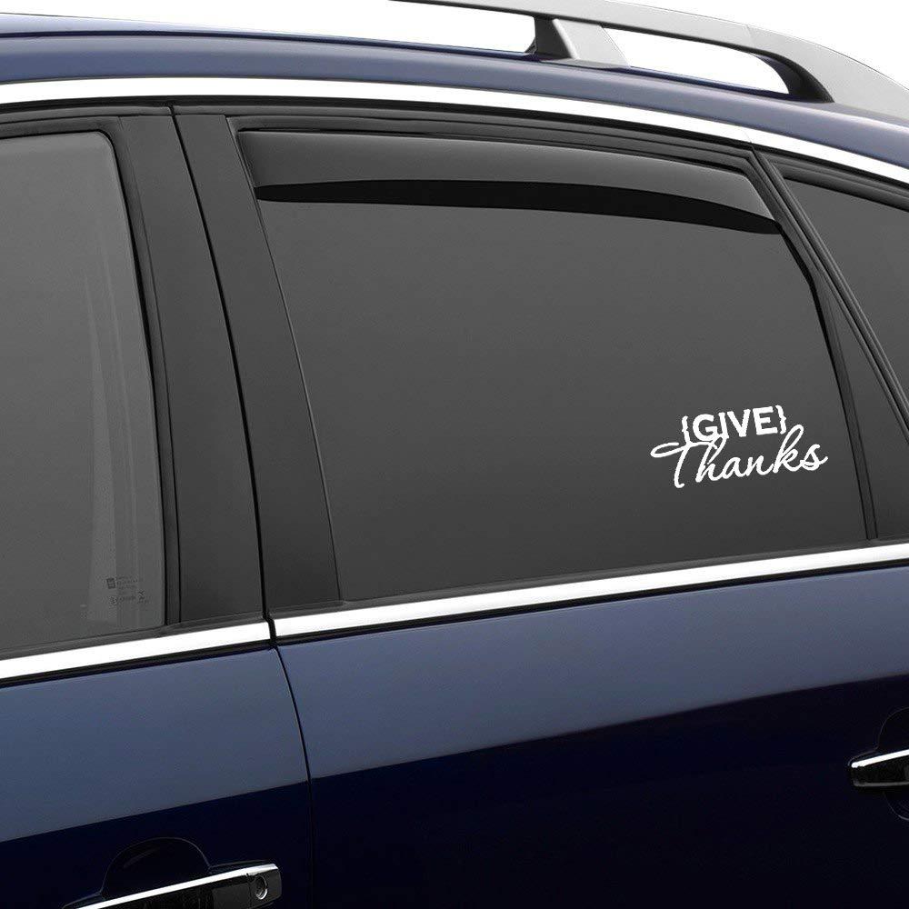 Thanksgiving auto Sticker,Vinyl Car Decal,Decor for Window,Bumper,Laptop,Walls,Computer,Tumbler,Mug,Cup,Phone,Truck,Car Accessories
