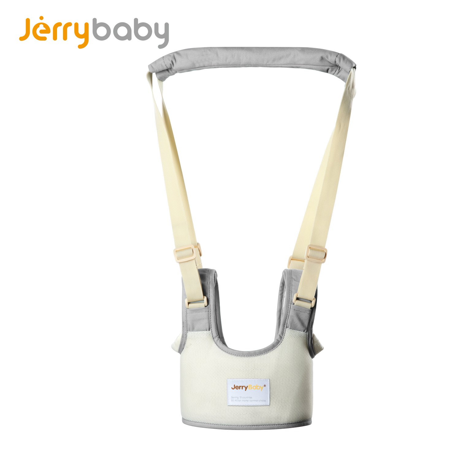 Jerrybaby Baby Walker Helper Baby Walk Assistance Learning Walk Assistance (Gray)