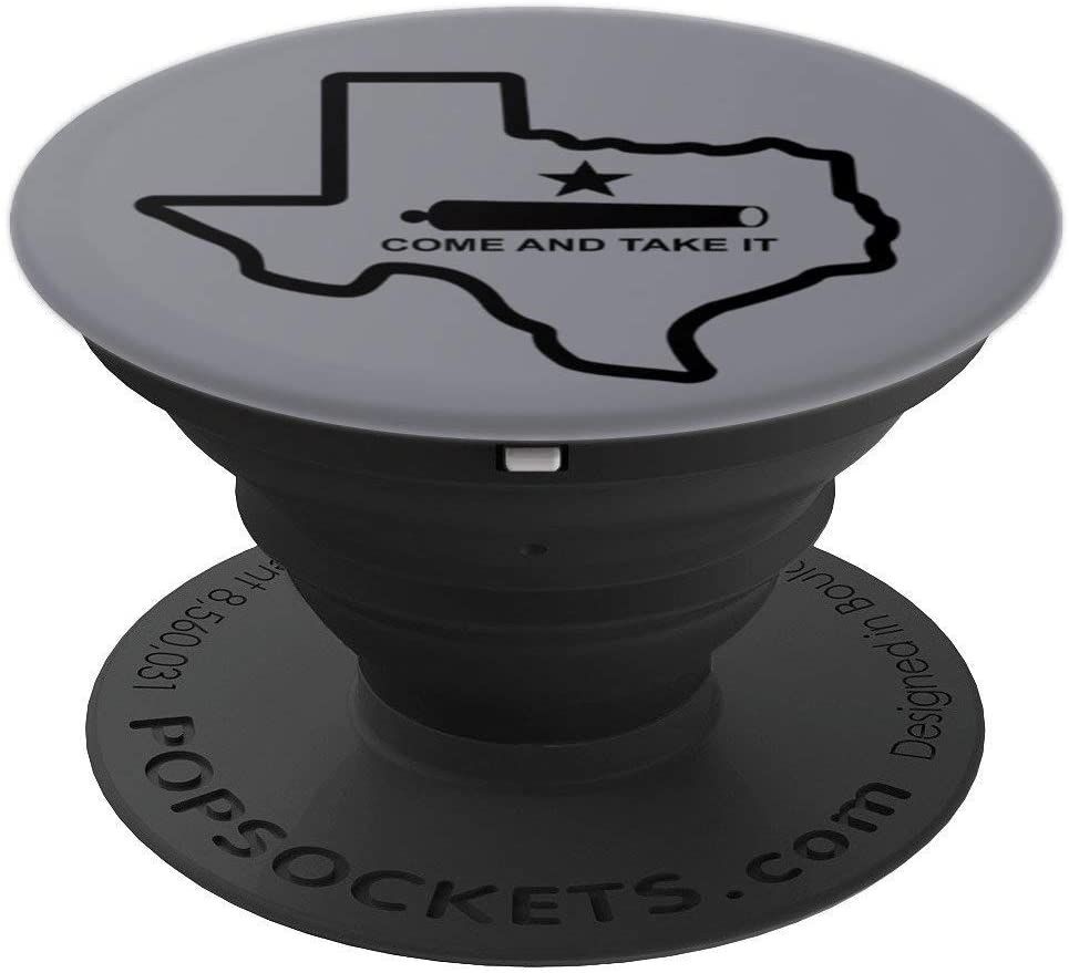 Battle of Gonzales Come and Take It with Cannon and Star PopSockets Grip and Stand for Phones and Tablets