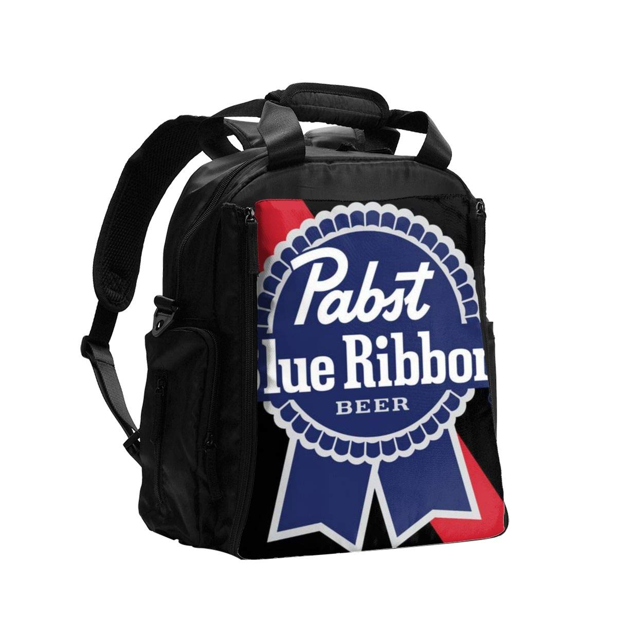 Pabst Blue Ribbon Beer Diaper Bag Backpack,Baby Travel Nappy Back Pack