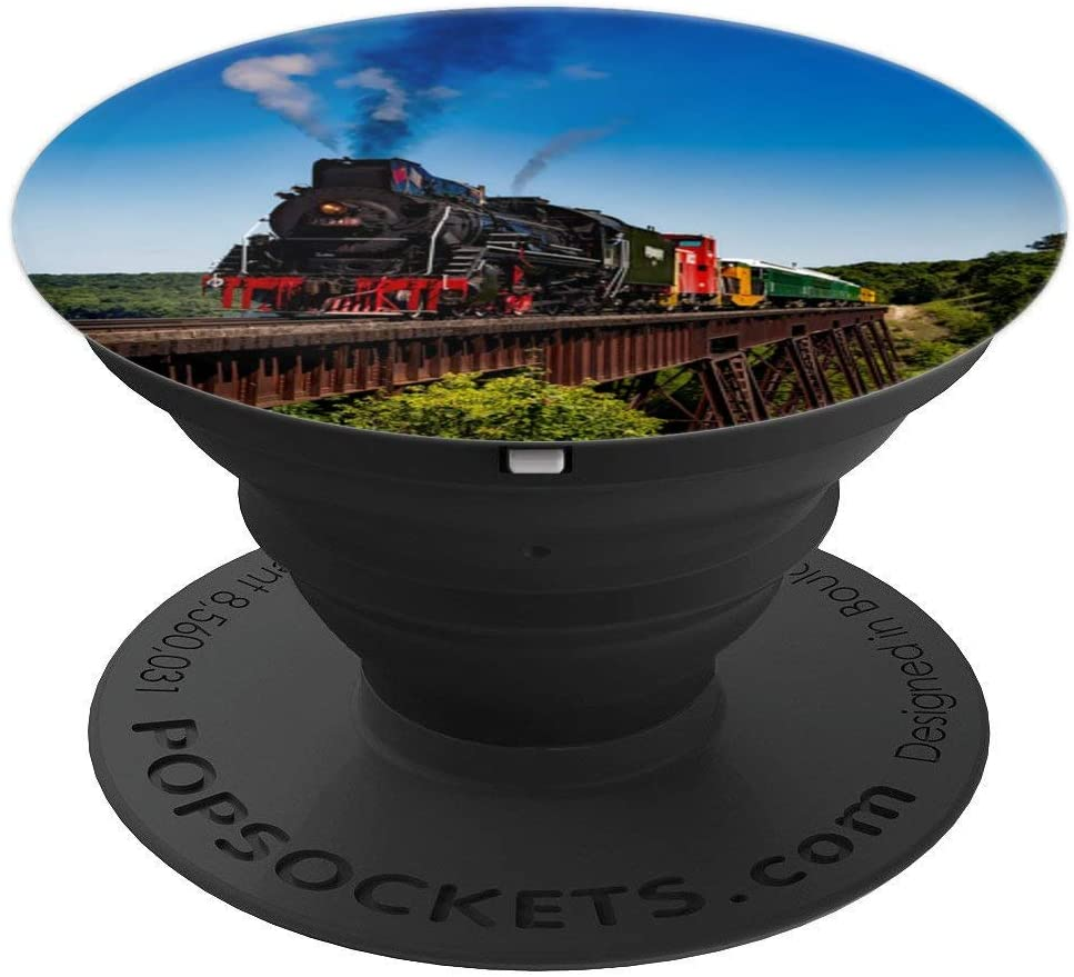 Locomotive Train Popsocket PopSockets Grip and Stand for Phones and Tablets
