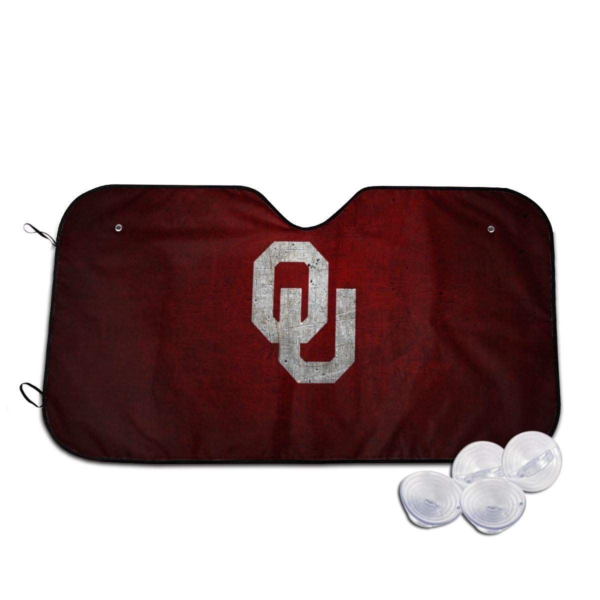 Okla&Homa Sooners Windshield Sun Shade for Trucks Cars Sunshade Visor Front Window SUV Car Truck Front Shield Reflector Blocking Screen Cover