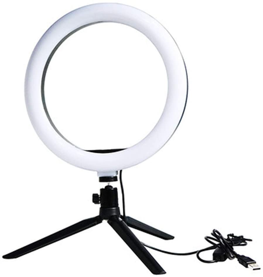 Selfie, LED Selfie Stick Tripod, LED Ring Light, Ring Light with Tripod Stand, 3 Color Modes, USB Powered, Phone Holder for Live Streaming, Makeup, Camera