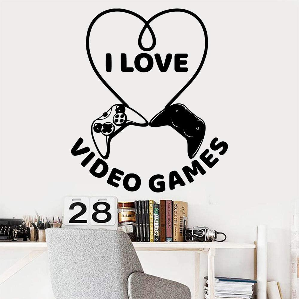 Video Games Wall Decal Art Vinyl Stickers for Kids Room Living Room Home Decor Wall Decoration Murals