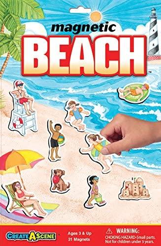 Create-A-Scene Magnetic Playset - Beach