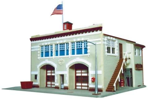 Life-Like Trains HO Scale Building Kits - Fire House