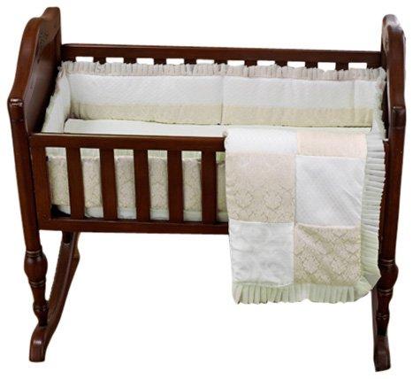 Baby Doll Bedding King Cradle Set, Ecru