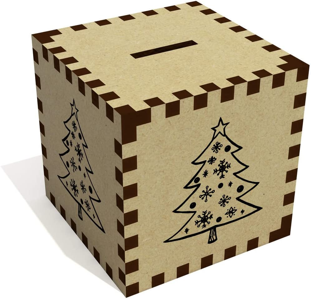 Azeeda 'Christmas Tree' Money Box / Piggy Bank (MB00002003)