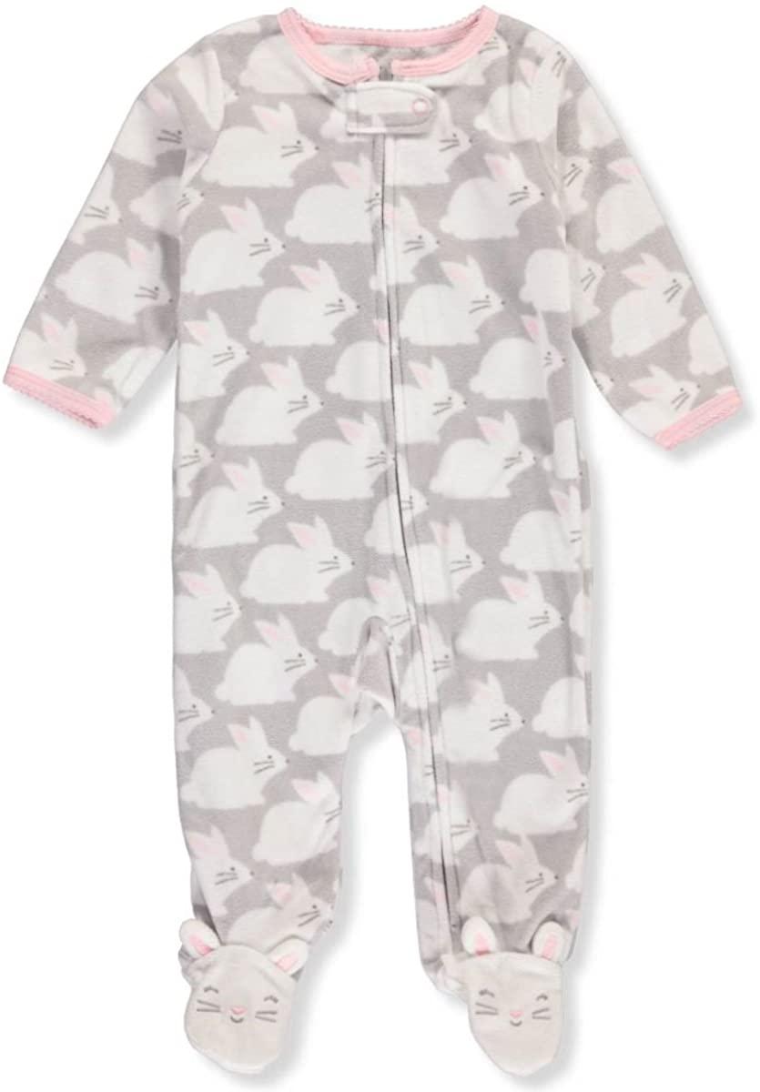 Carter's Baby Girls' Bunny Print Sleep & Play 3 Months
