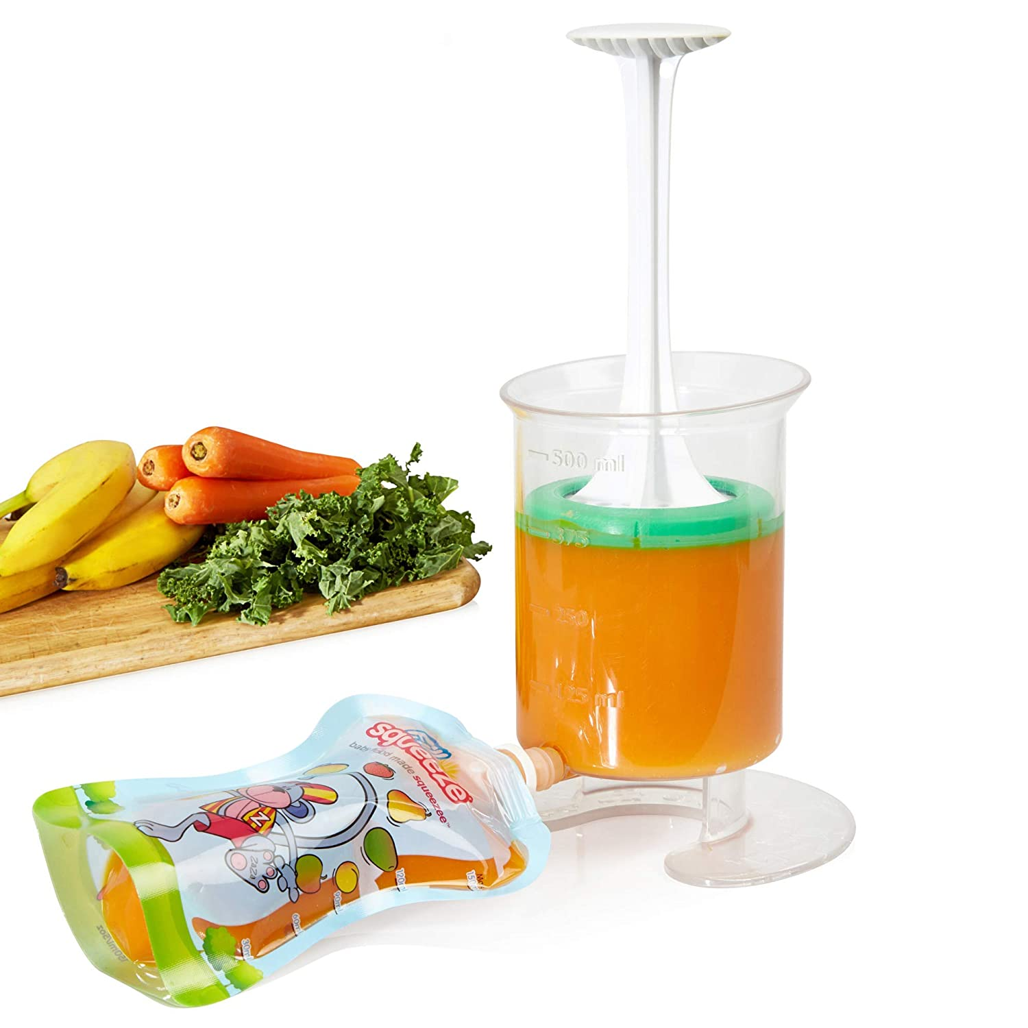 Fill n Squeeze Baby Weaning Set, Starter Pack