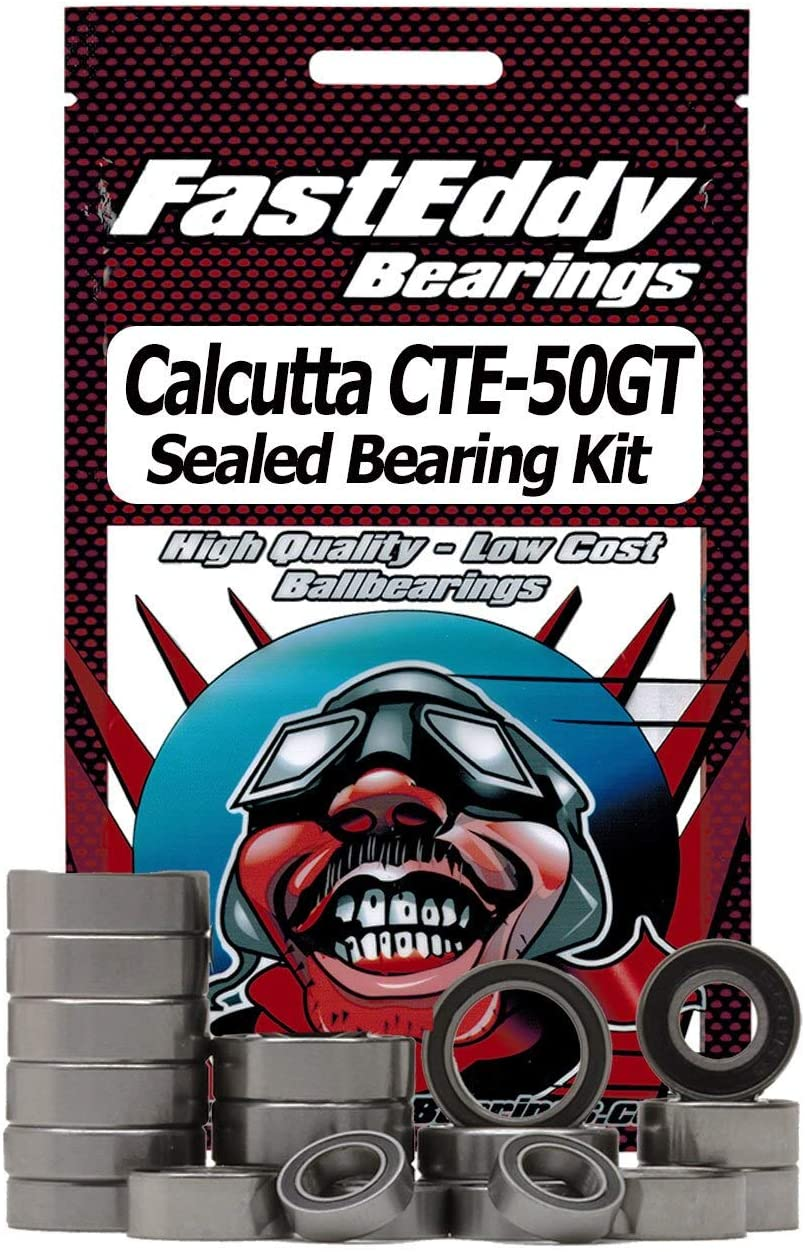 Calcutta CTE-50GT Baitcaster Fishing Reel Rubber Sealed Ball Bearing Kit for RC Cars