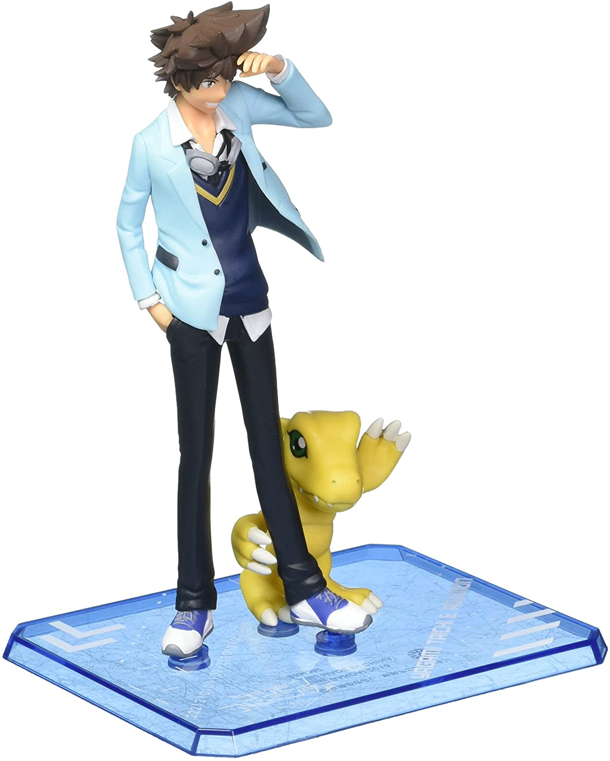 TAMASHII NATIONS Bandai Figuart Zero Taichi & Agumon Digimon Adventure Try Action Figure