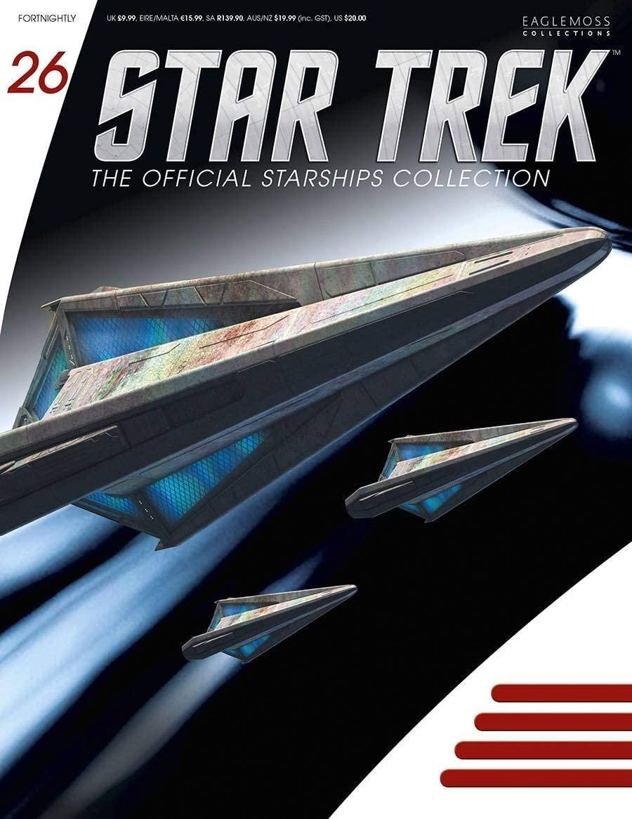 Star Trek Starships Figurine Collection Magazine #26 Tholian Starship