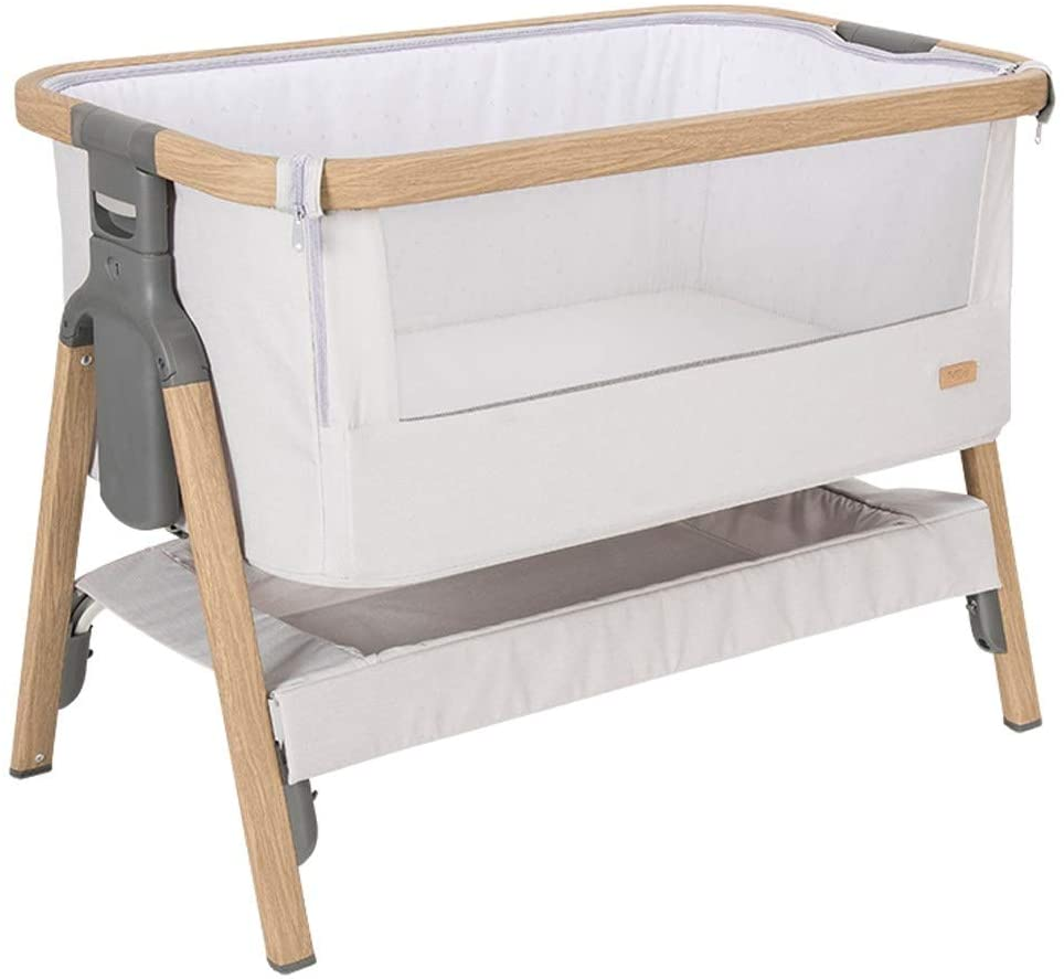 Rocking Chair Baby Beds Cribs Infant Swing Cradle Portable Folding Rocking Bassinet Newborn Multi-Function Appease Shaker Suitable for New-Born to Toddler Bed (Color : Silver1)