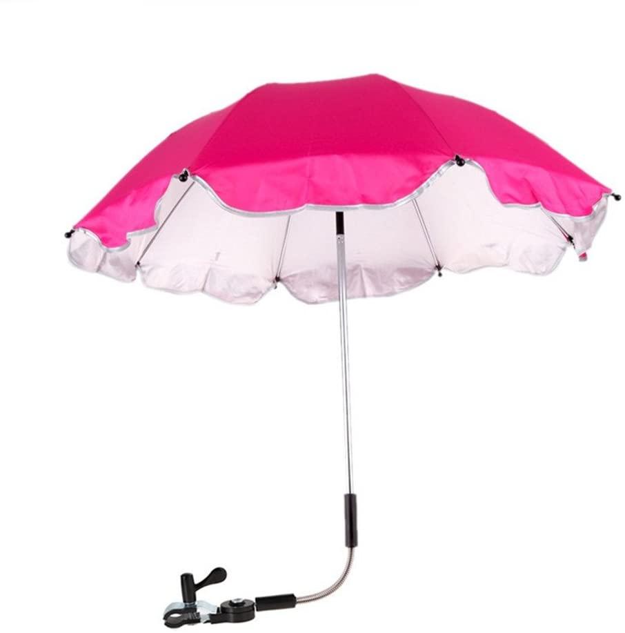 Homebeast Umbrella Sunshade Parasol Rain Canopy Cover for Baby Stroller Wheelchair Pushchair Protection UV Rays Umbrella