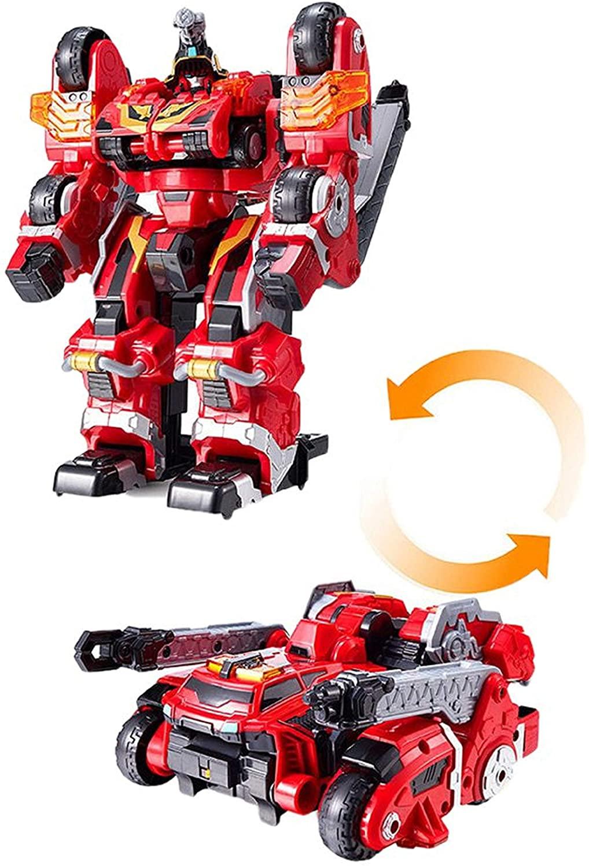 Tobot Titan Saver Toy Robot Automatic Transformation Action Figure