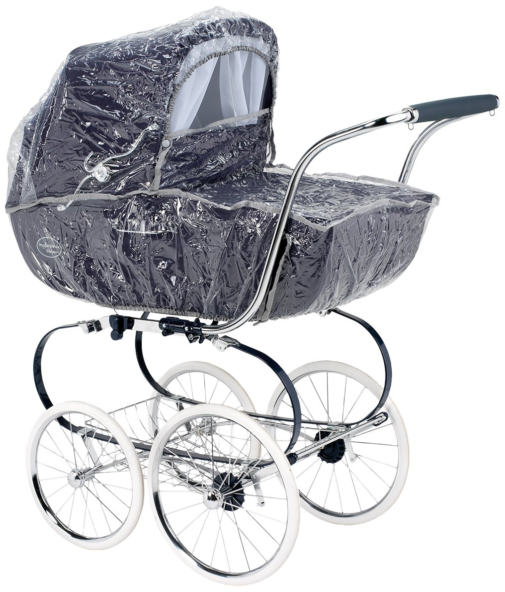 Inglesina Classica Pram and Zippy Bassinet Raincover