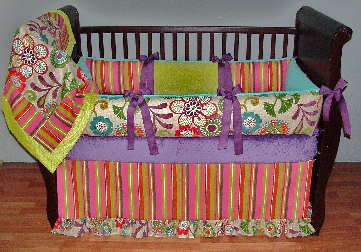 Modpeapod Nora Breathable Baby Bedding Set