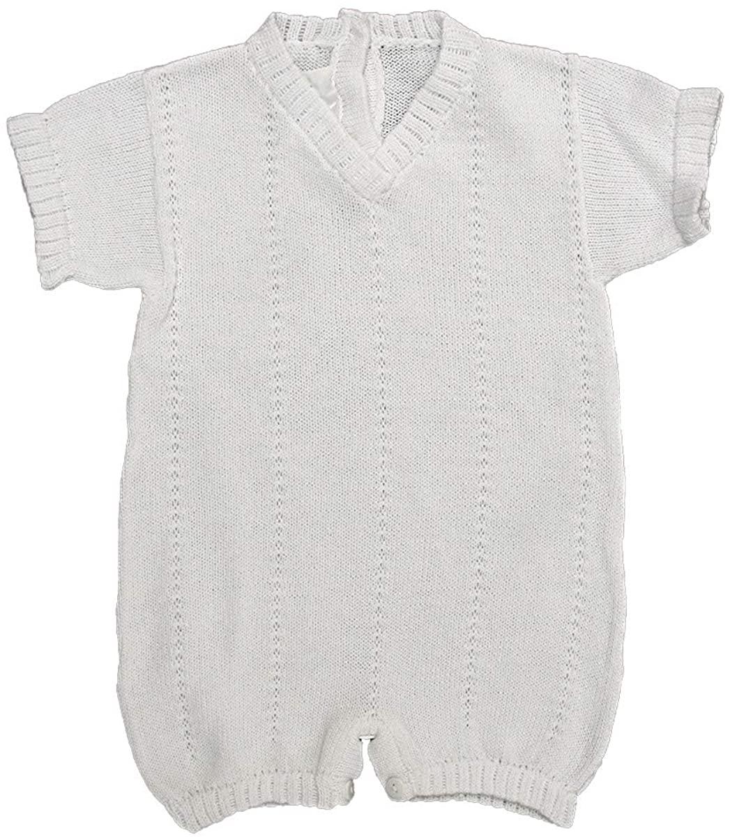 Baby's Trousseau V-Neck Short Sleeve Romper A952