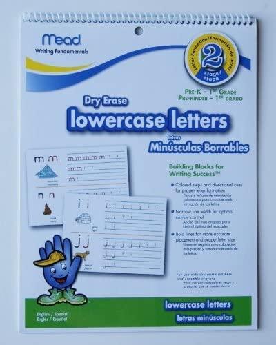 Write-On Wipe-Off lowercase letters Pre-K - 1st Grade