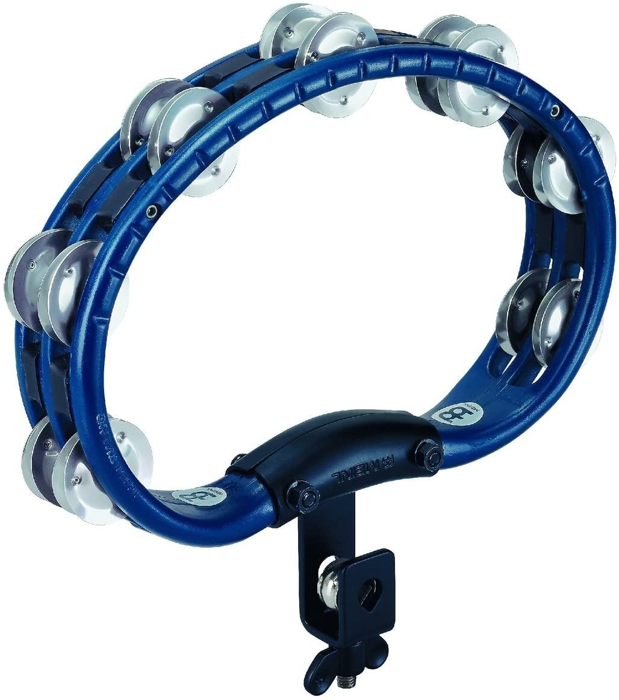 Meinl Tambourine, Aluminum Jingles, Mountable Version, Blue