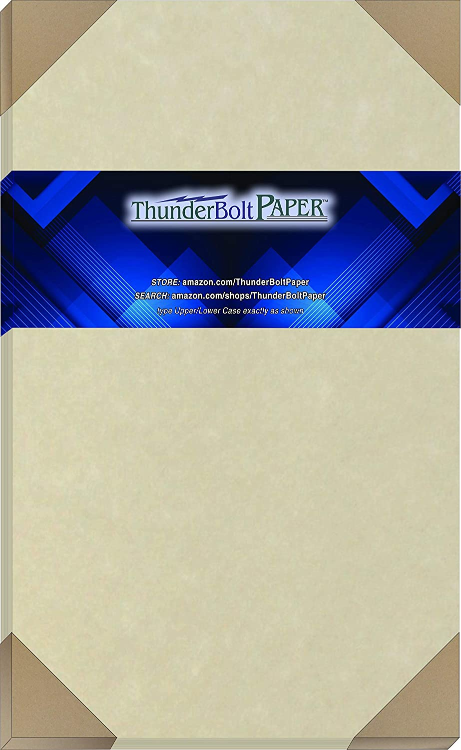 300 Natural Parchment 65lb Cover Paper Sheets 8.5X14 Inches Cardstock Weight Colored Sheets 8.5X14 Inches Legal|Menu Size - Printable Old Parchment Semblance