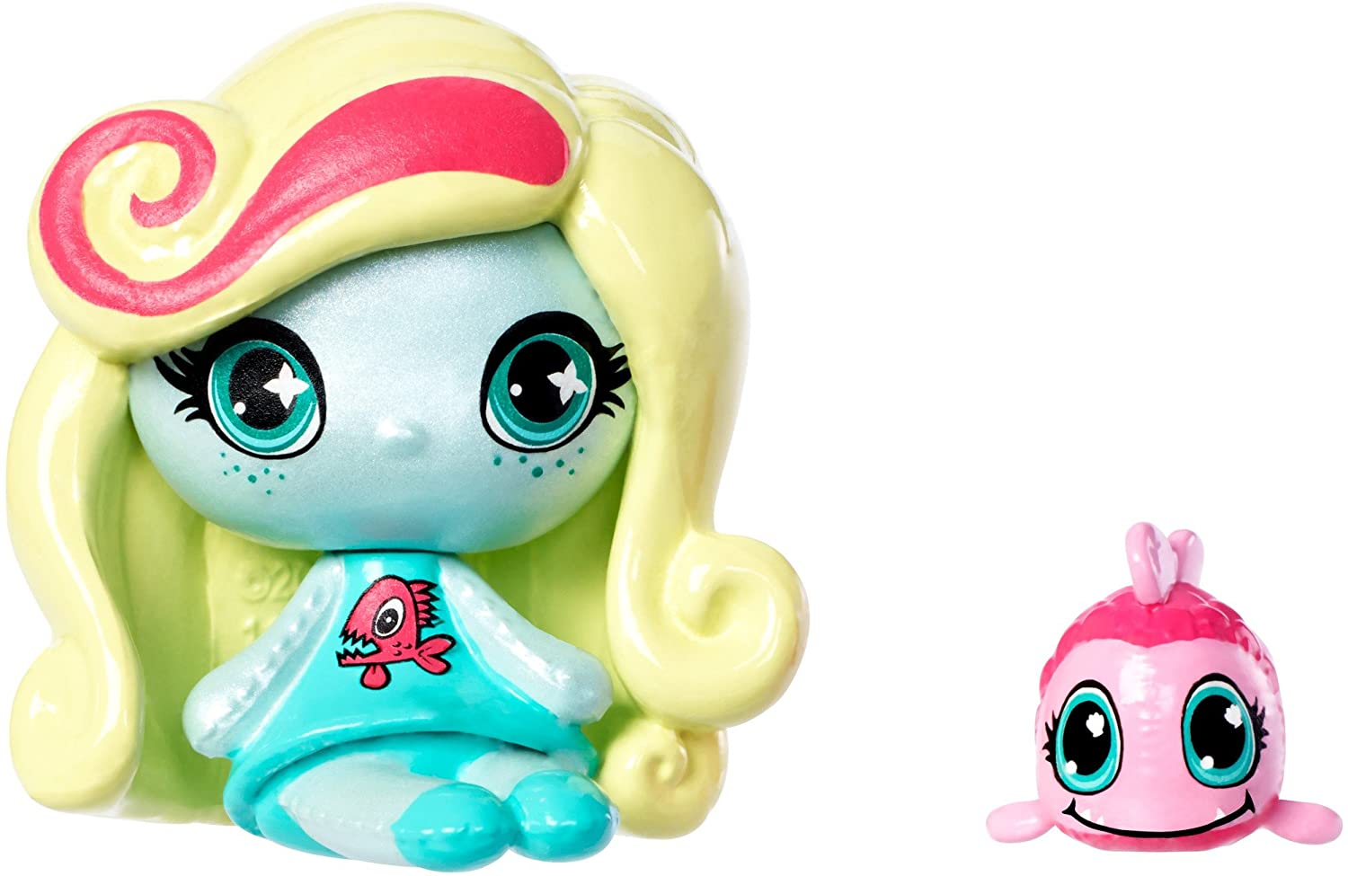 MONSTER HIGH MINIS LAGOONA BLUE & NEPTUNA FIGURES