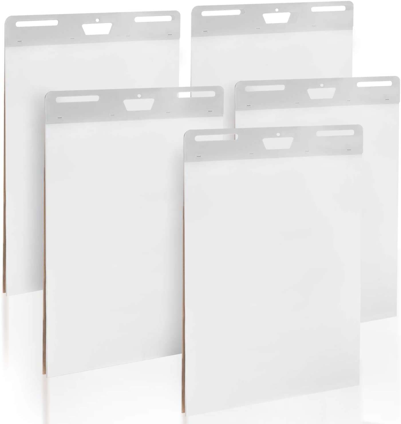5-Pack of Premium Self-Stick Easel Pads - 25 x 30 Inches, 30 Sheets Per Pad - Thick Paper, Strong Staples, Sticky Easel Poster Chart Pads to Post on Walls - By IMPRESA