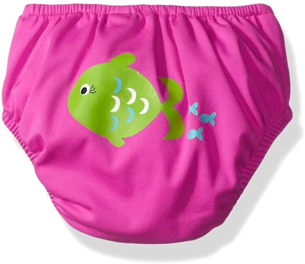 KIKO & MAX Girls' Absorbant Reusable Swim Diaper